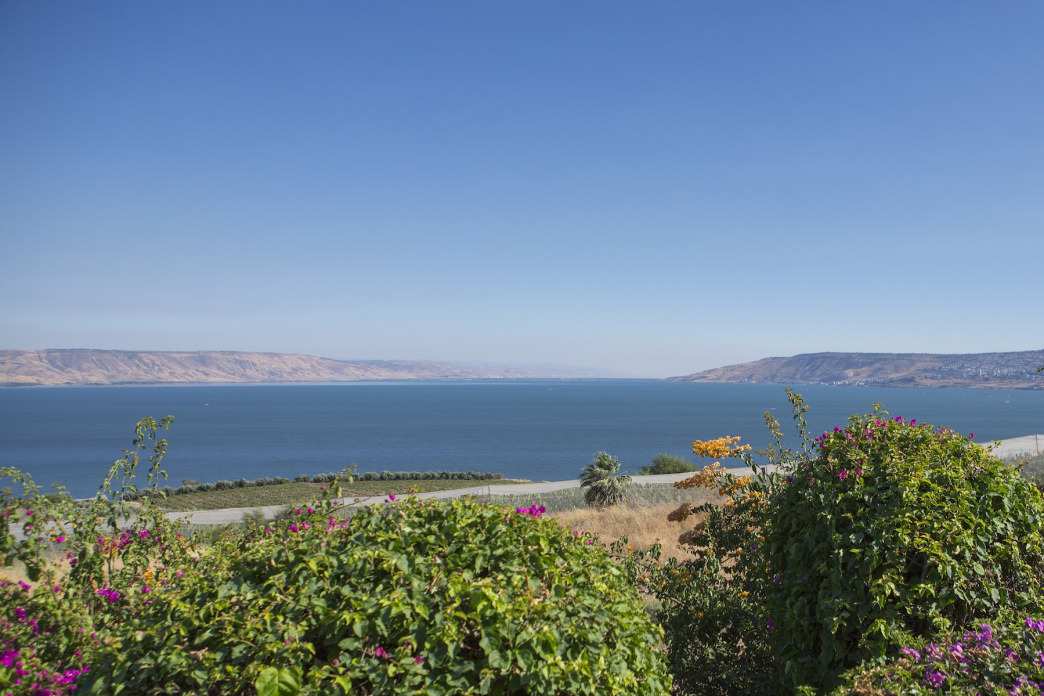 """Blessed are the poor in spirit, for theirs is the kingdom of heaven."" A side trip on the Jesus Trail leads up the Mount of Beatitudes, where Jesus is said to have given his famous Sermon on the Mount."