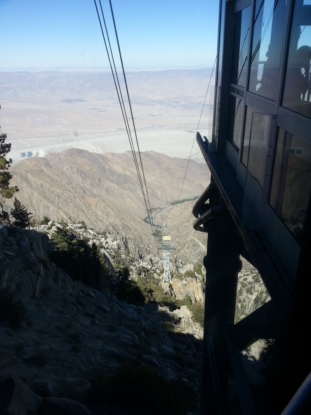 The Aerial Tramway will give hikers a ride back to down the mountain.     Craig Pulsipher