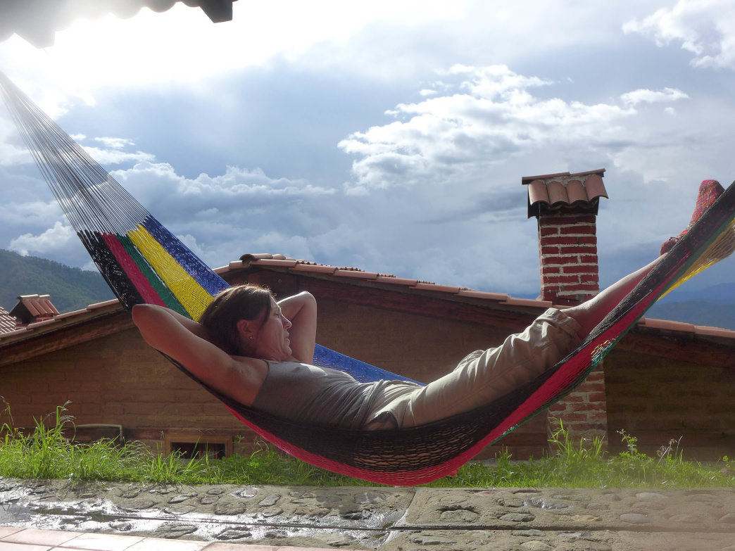 Hammock lounging in Latuvi.