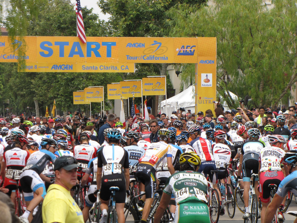 Start of the 2011 Amgen Tour of California