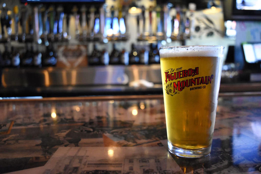 Go ahead, you've earned that post-adventure beer at the Figueroa Mountain Brewing Co.
