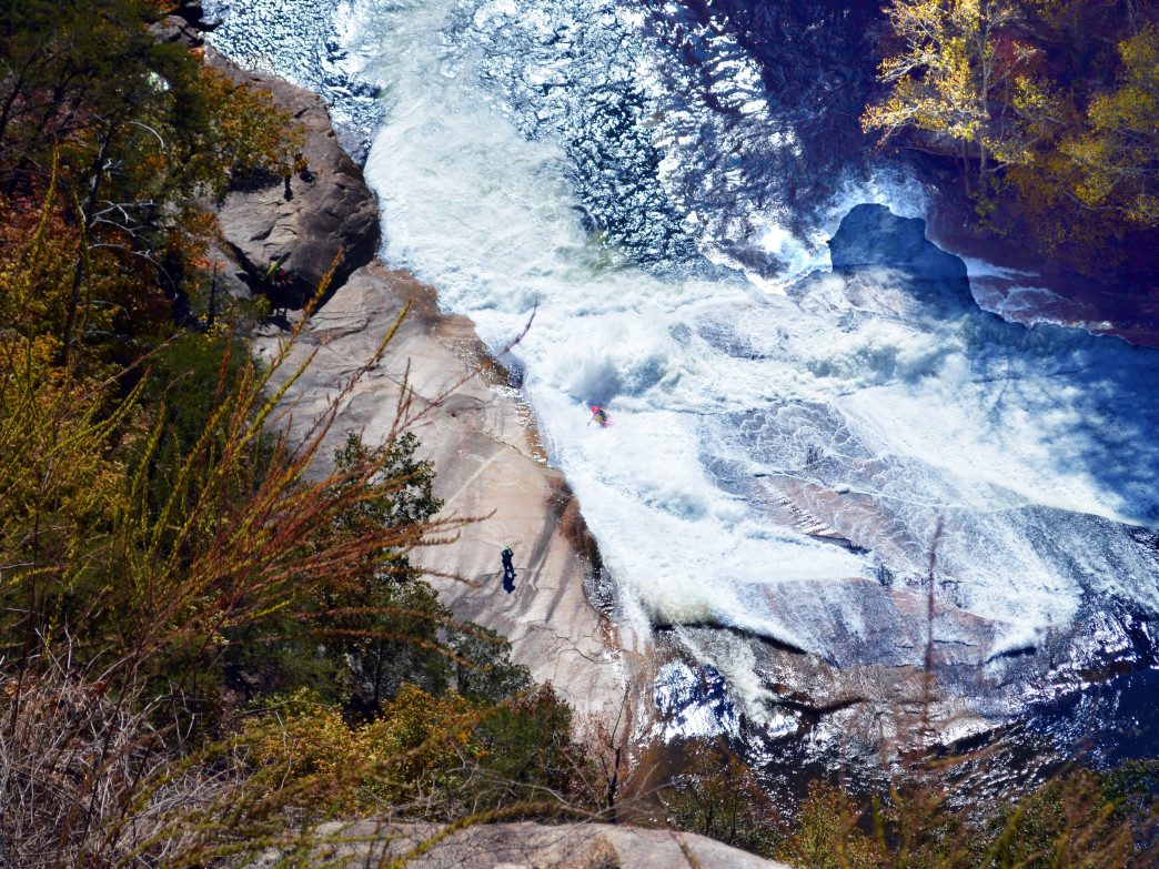Tallulah Gorge's whitewater release
