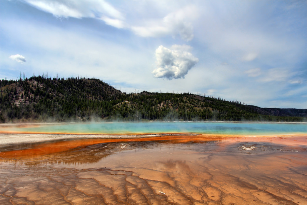 Yellowstone offers a more intimate experience in the autumn.      Kyla Duhamel