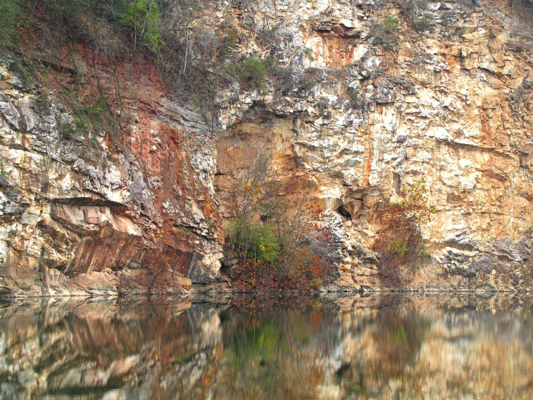 Meads Quarry is a great spot for a summer dip.