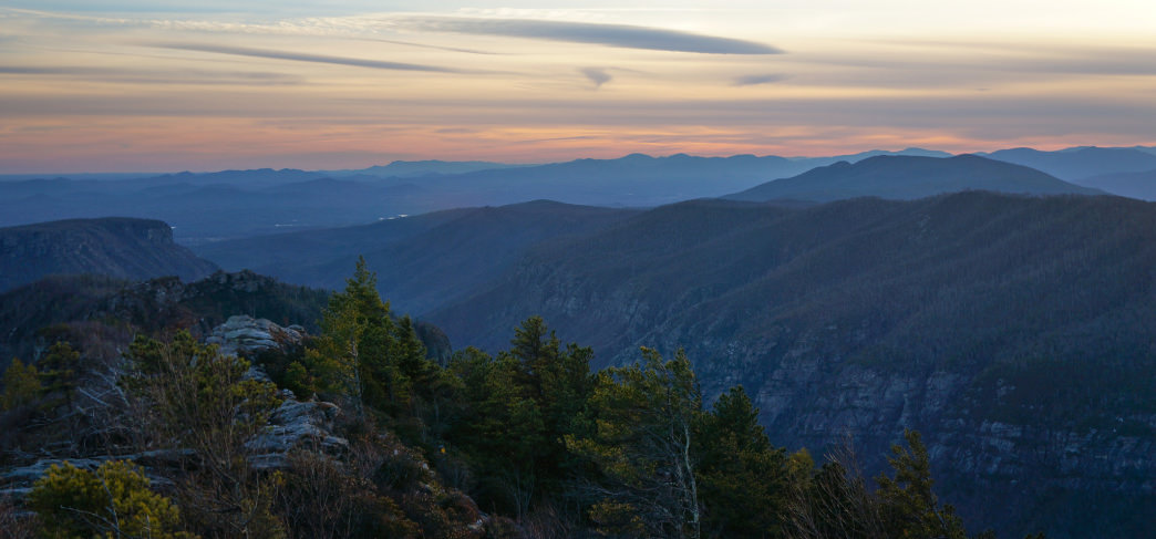 The North Carolina High Country is filled with scenic vistas.
