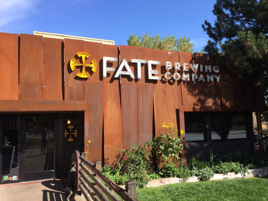 FATE serves a full menu along with a wide variety of beer.