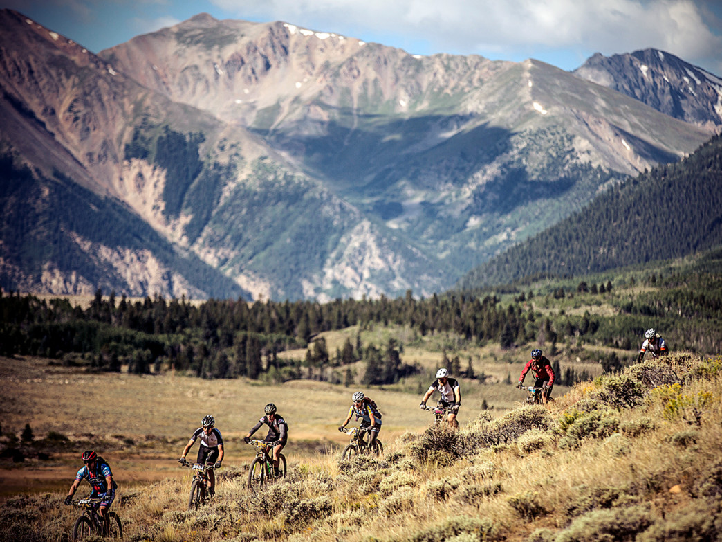 The Leadville 100 MTB route scrapes the sky, with elevations that flirt with 12,500 feet.