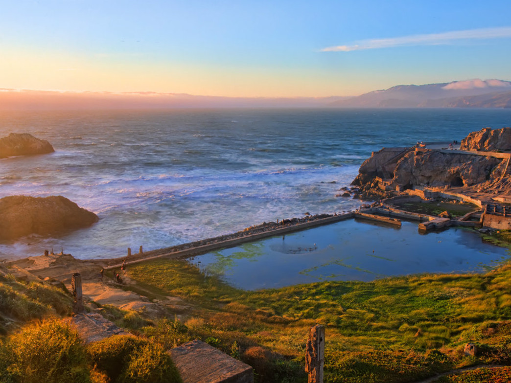 Land's End is an epic spot for a trail run in SF; plan for a weekday if you can.