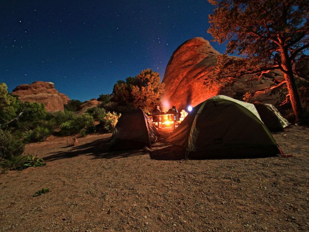Camping opportunities abound in Moab, but plan ahead for weekends.