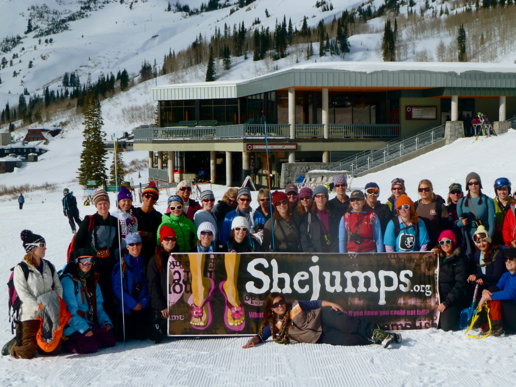 A solid turnout at the last Beacon Clinic at Alta ensured more supersafe mountain women in the Wasatch.