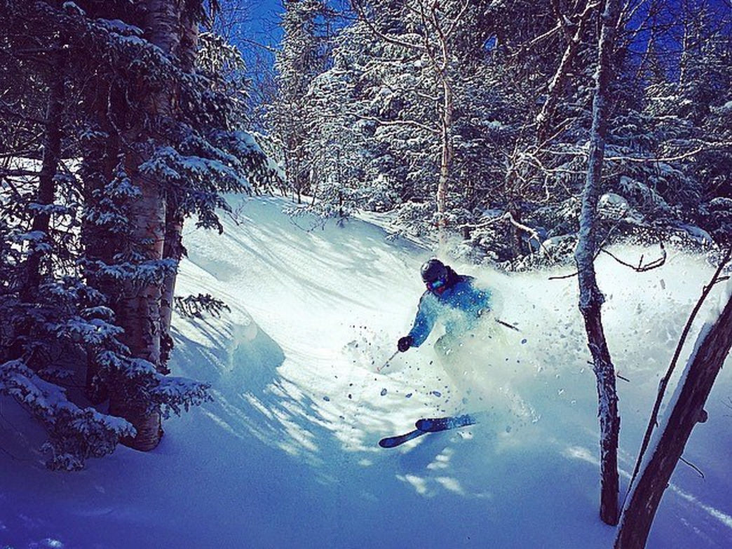 Take the trail less traveled and find the powder that awaits you.