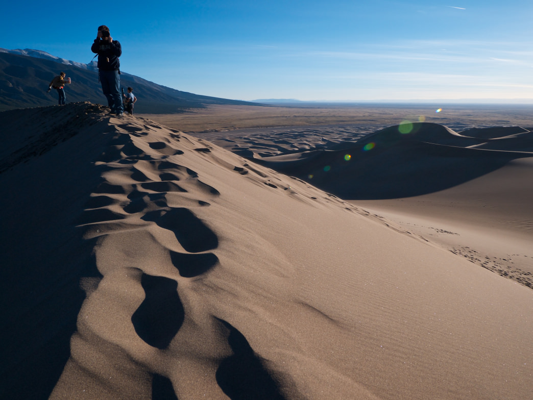 The Great Sand Dunes National Park and Preserve offers a landscape unlike anything else in the country.