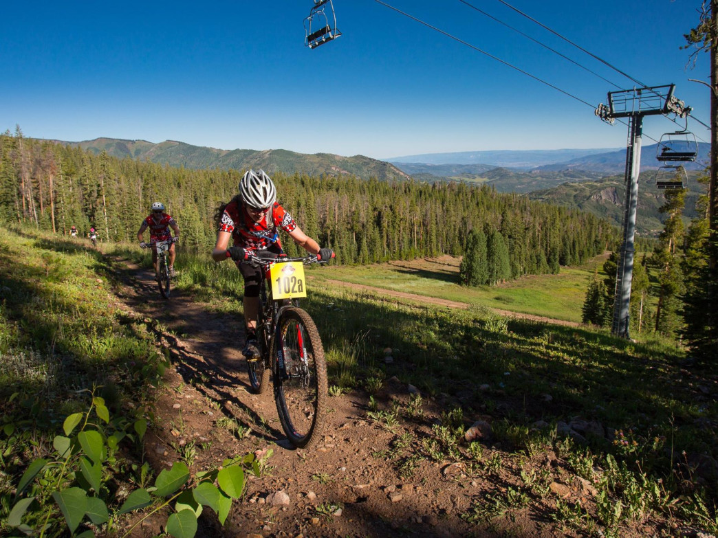 On August 1, 2015, the 33-mile  Audi  Power Mountain Bike Race brings world-class athletes to the valley.