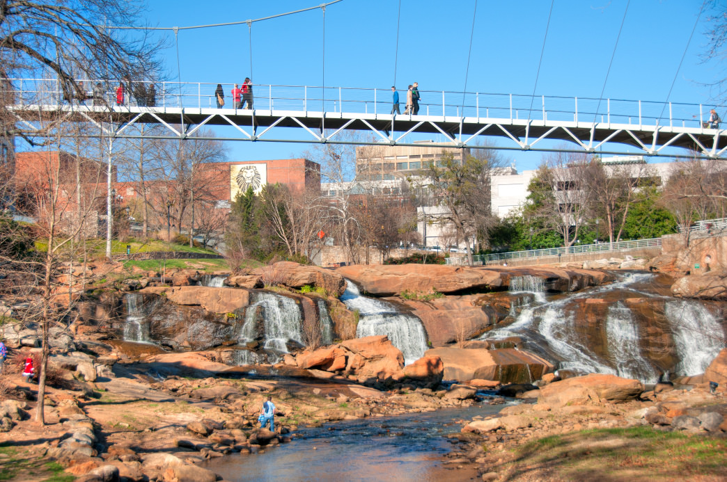 Greensville's Swamp Rabbit Trail is 20 miles of goodness.
