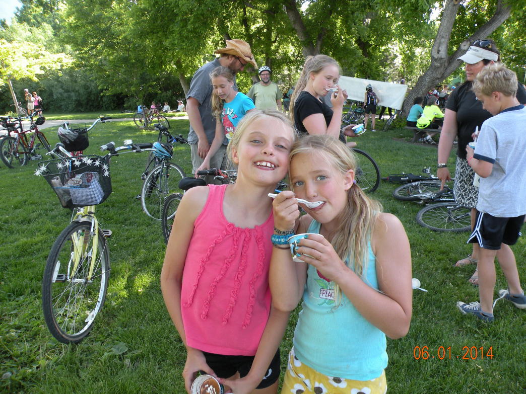 Free Ben & Jerry's is a sweet reward at the end of Circle Boulder by Bicycle.