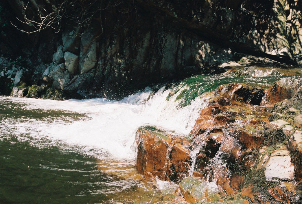 Secluded falls like these are just one of the rewards of the Laurel Fork Wilderness.