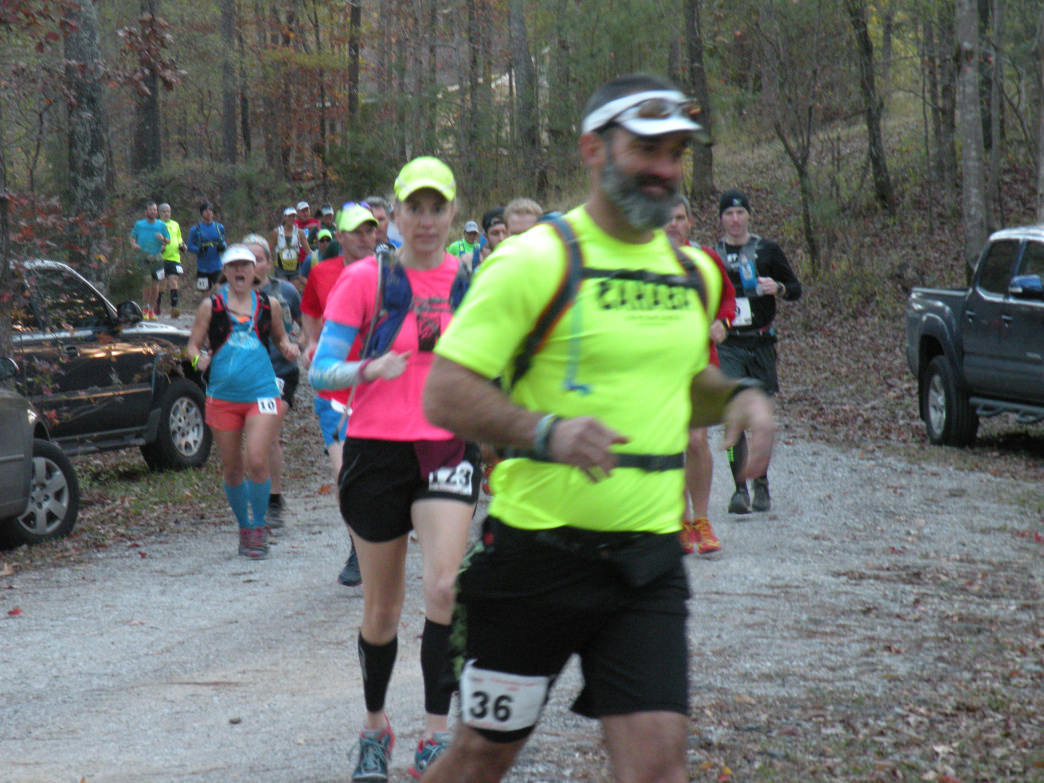 A large number of Birmingham trail runners are 35 and older.     David Tosch