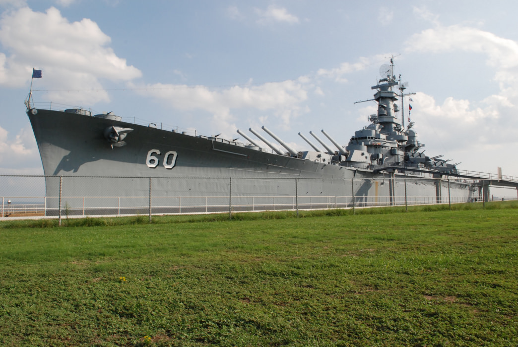 The *USS Alabama* Trail is named after the battleship with the same name.