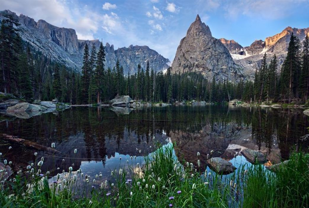 Indian Peaks Wilderness Area Backpacking Camping