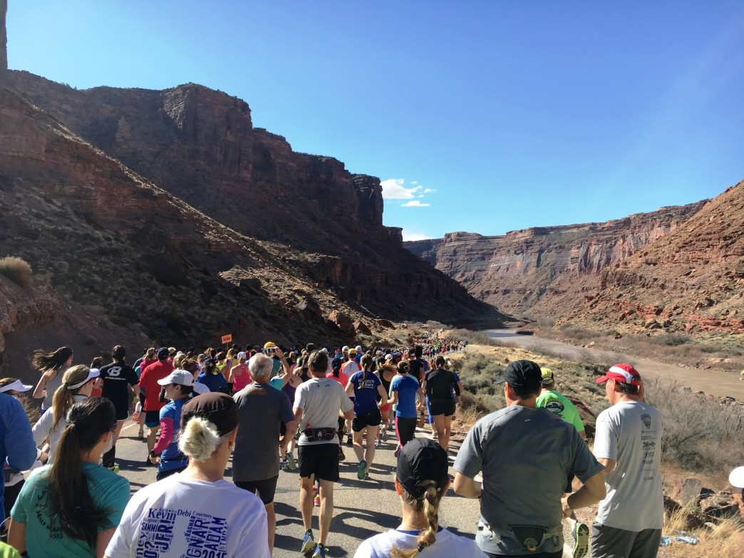 The Canyonlands Half Marathon is a perfect race for those new to longer distances.