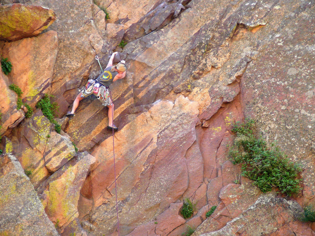 El Dorado Canyon State Park is a favorite among the climbing set.