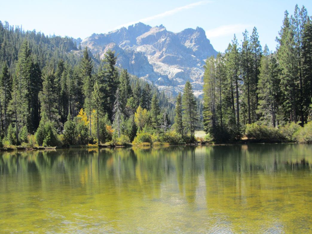 Gold Lake in the Lakes Basin area makes for a scenic paddling spot.