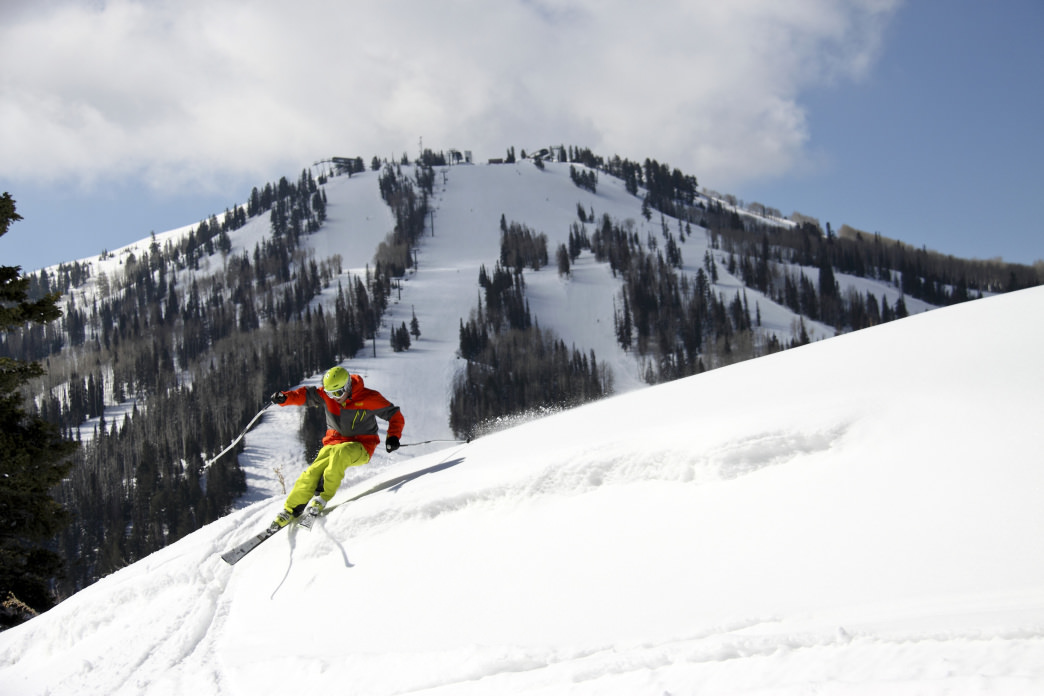Park City is now known for some of the best skiing in the world.
