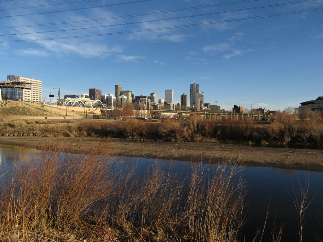 Confluence Park is awesome for trail running.