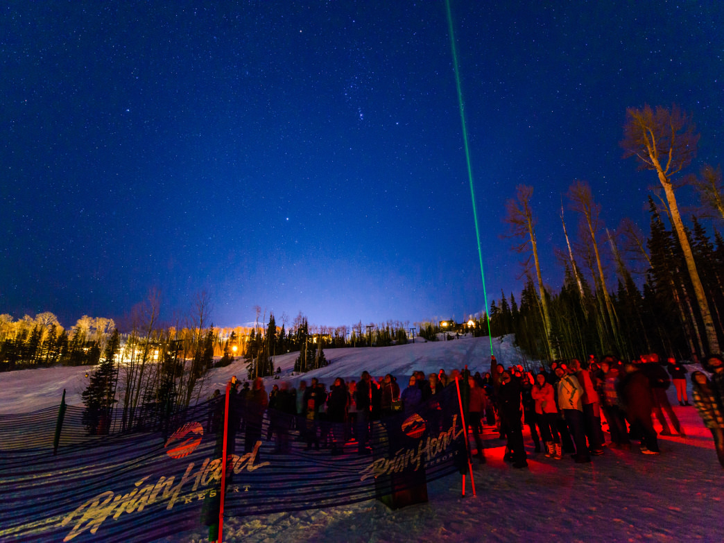 Winter star party.