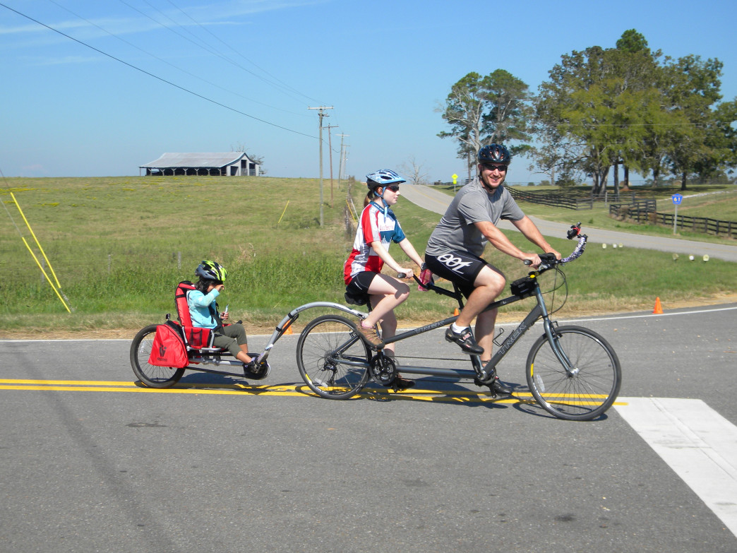 The Montgomery Bicycle Club works to promote an interest in cycling for all ages.