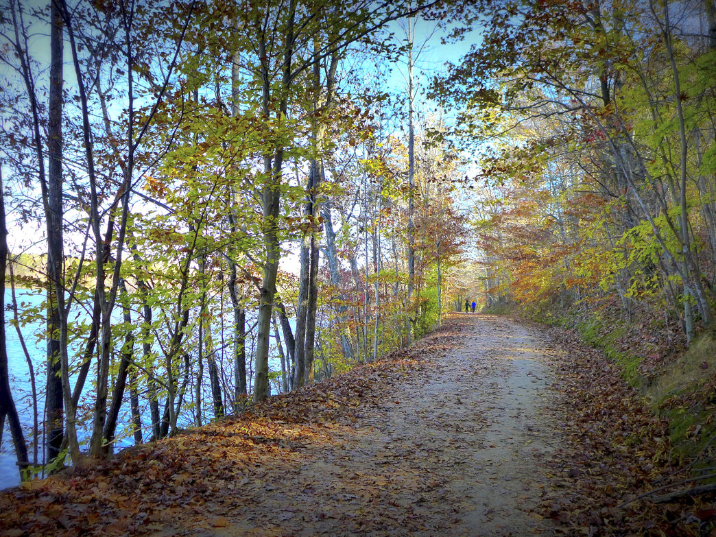 The Salem Lake Trail offers views at every turn of its namesake lake.