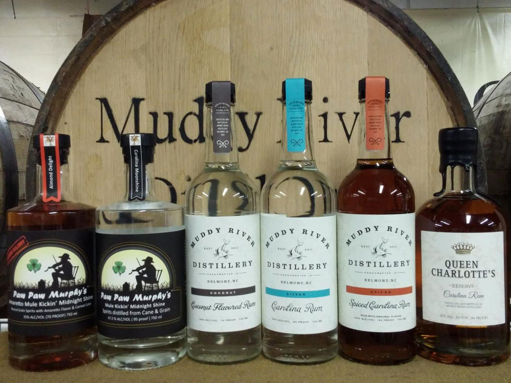 If your plans include an evening by the campfire, you'll want to make a stop at North Carolina's oldest rum distillery, Muddy River.