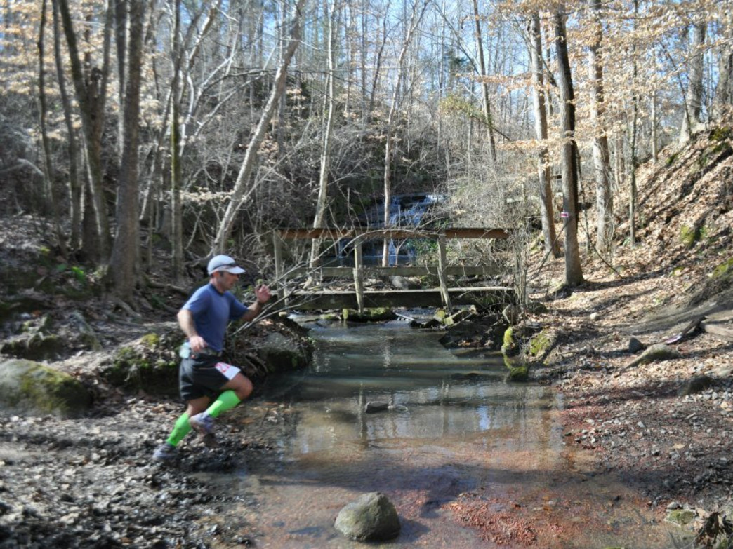 The Anne Close Springs Greenway offers the rugged trail that makes the Ring in the New Year races so much fun.