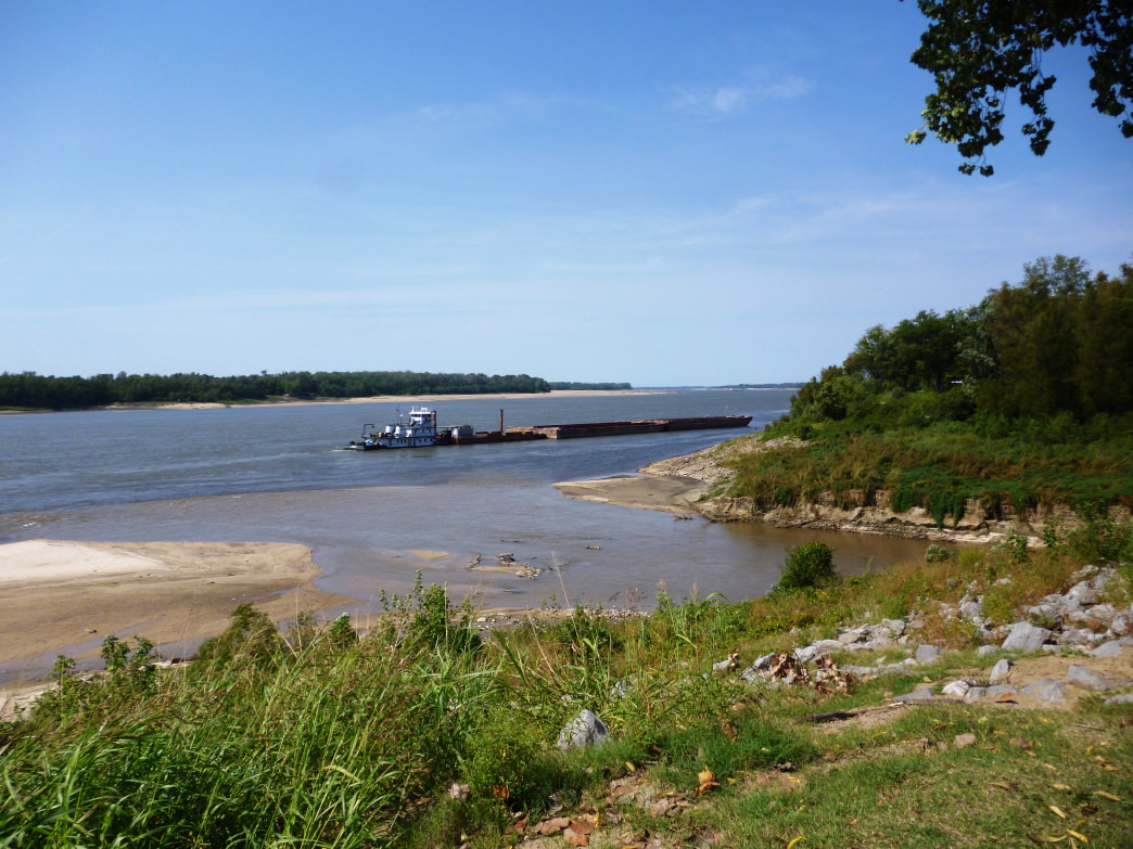 The iconic Mississippi River is a great place to catch bass and bluegill.