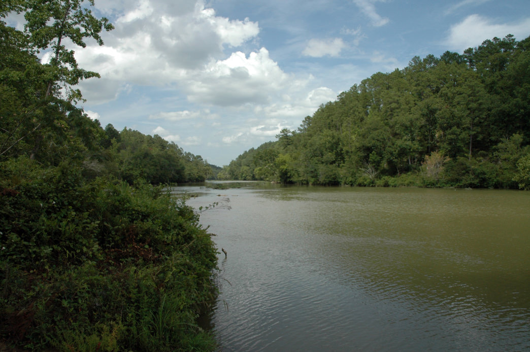 The Cahaba is the longest unimpeded river in Alabama.