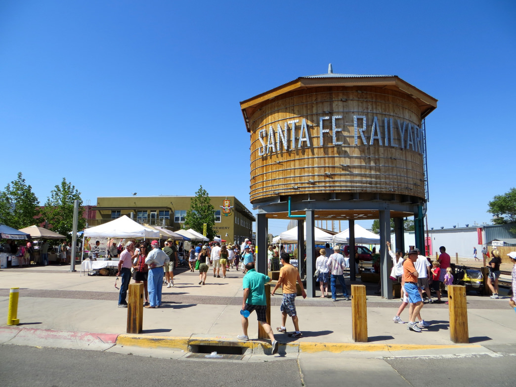 The farmers market in Santa Fe has been around for nearly 50 years.