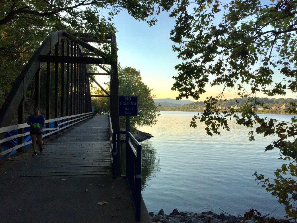 The Chattanooga Greenway consists of 10 miles of paved bike path, much of that along the riverfront. Mariel Groppe