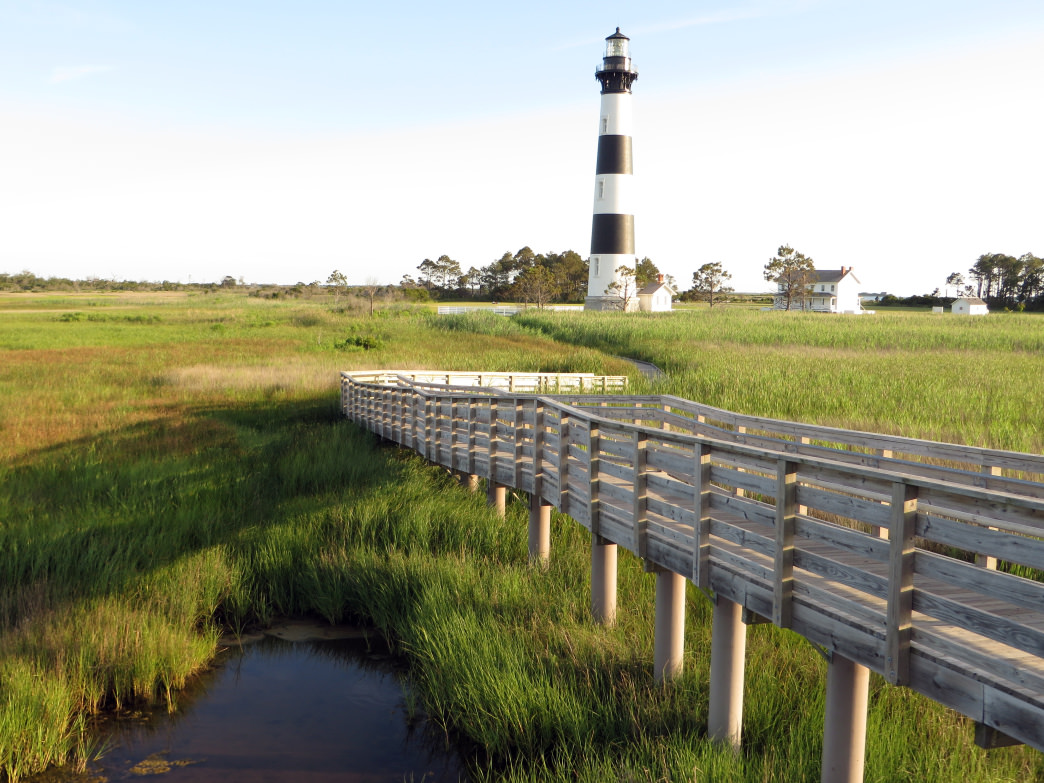 Scattered over the 24,470-acre Cape Hatteras National Seashore there are four different oceanside campgrounds.