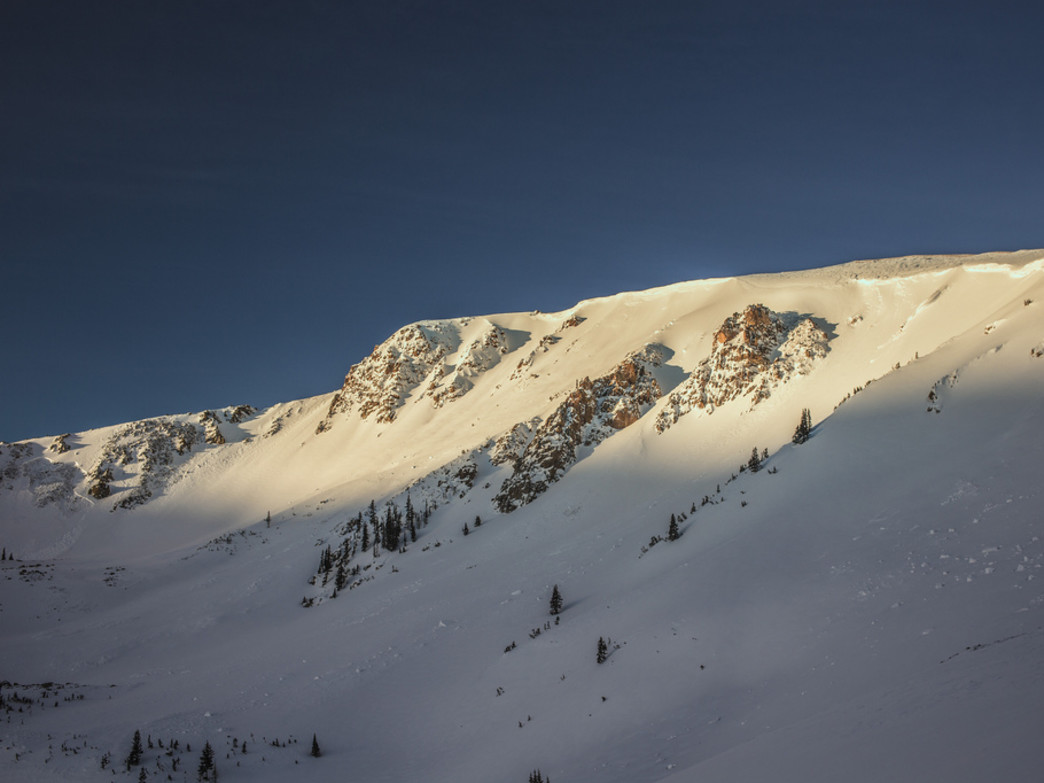 First light at Berthoud Pass