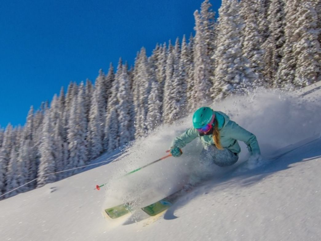 Ajax is definitely a locals mountain, with hidden gems tucked all over the slopes.