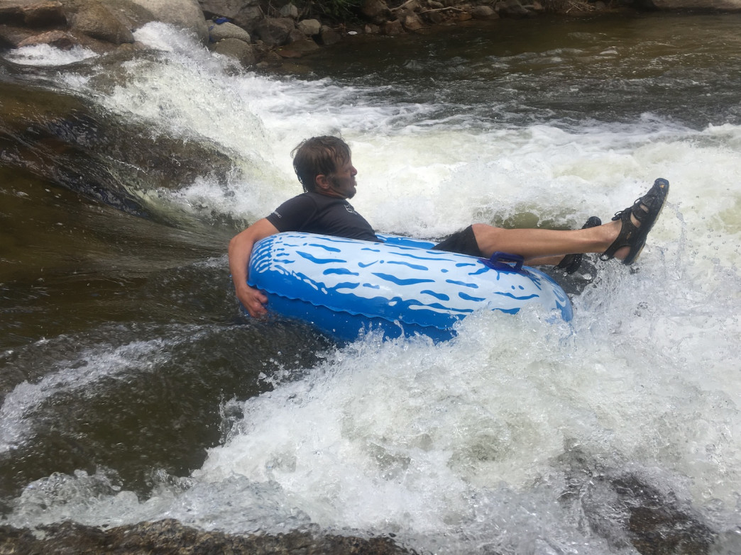 If you live in Boulder and have never tubed the creek, it's time to take a dip.