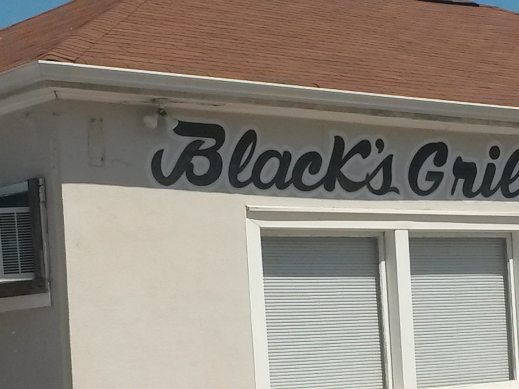 Blacks Grill has been serving Cherryville since just after the end of WWII.