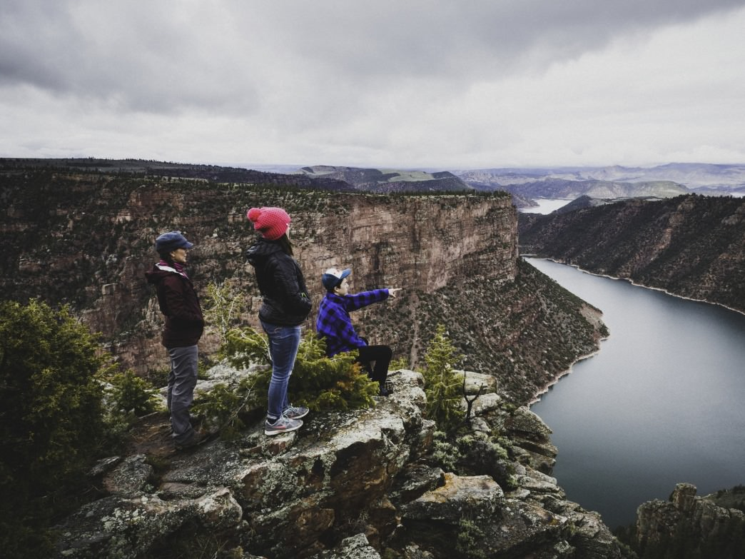 The Canyon Rim Trail, at Flaming Gorge is a scenic gem.