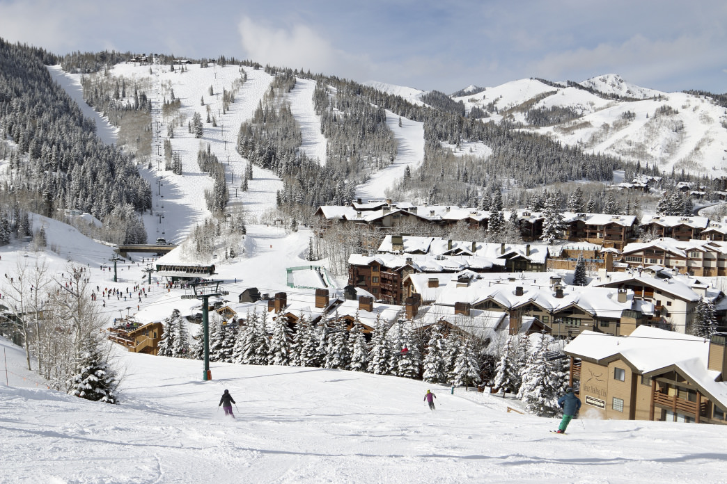 Employees at Deer Valley can take advantage of plenty of time on the mountain.