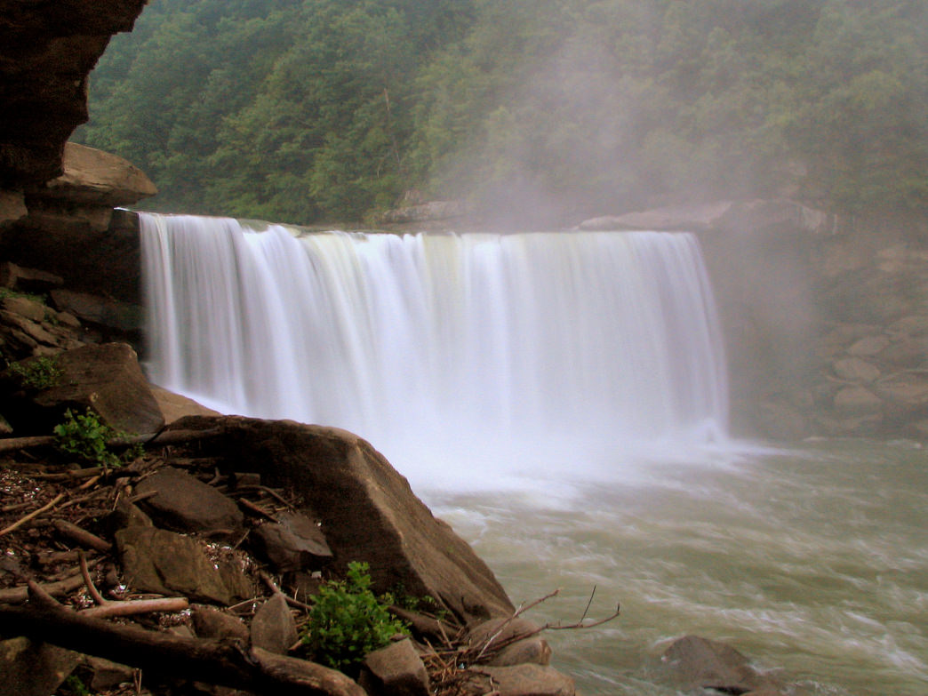Head to Cumberland Falls during the full moon for a chance to glimpse the elusive moonbow.
