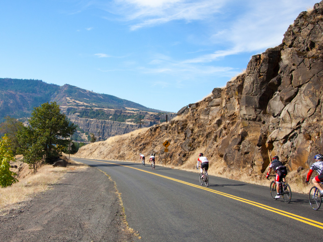 The 2014 Cycle Oregon ride covered 400-800 miles of Central Oregon terrain.