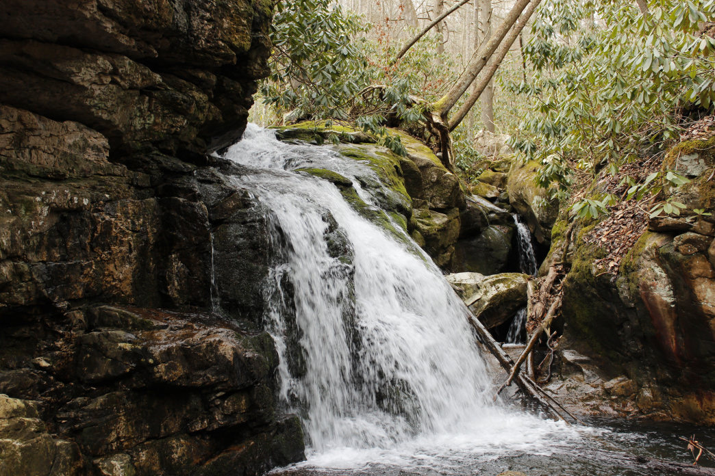 Blue Hole Falls is somewhat of a locally kept secret.