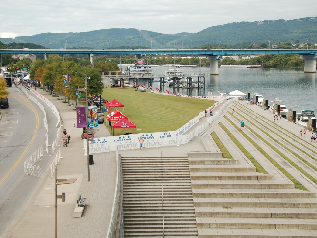 IRONMAN Chattanooga Riverfront.