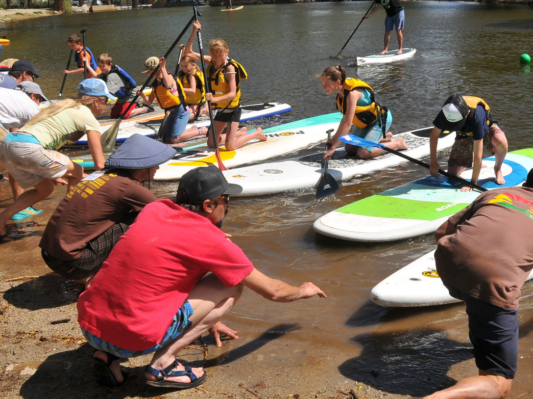PaddleFest offers water-based fun for all ages.