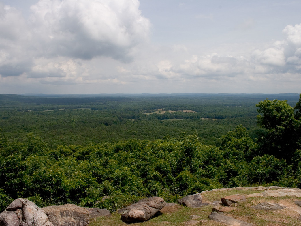 Overlook at Dowdell's Knob